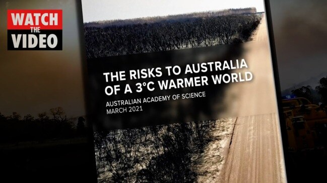 The risks to Australia of a 3°C warmer world
