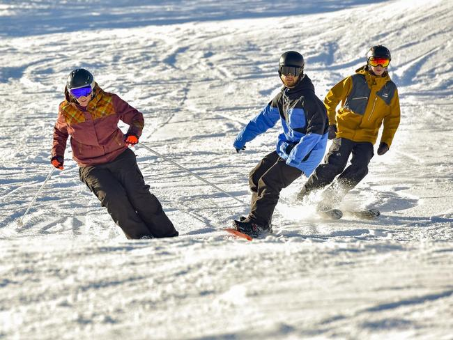 SKIING AND SNOWBOARDING Parts of Victoria's high country are currently experiencing waist-deep snow, and resorts are optimistic they'll be able to open soon for a bumper season. Check their websites for the latest updates.