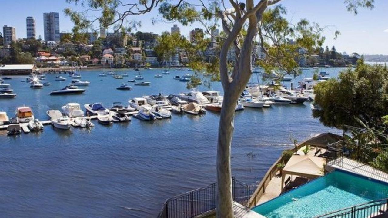 Caltex Australia chairman Steven Gregg's new Double Bay view.