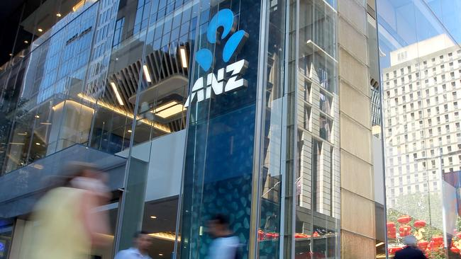 ANZ has announced a massive $3.4 billion half-yearly profit. Picture: Hollie Adams