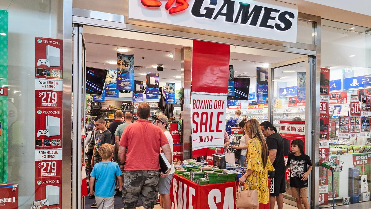 Followed by EB Games. Picture: AAP Image/Matt Loxton
