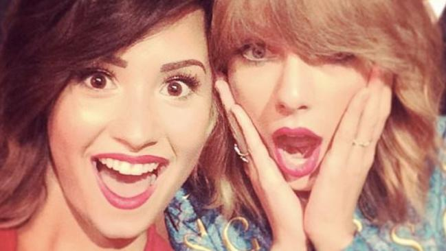 Demi Lovato has hit out at former friend Taylor Swift. Picture: Instagram