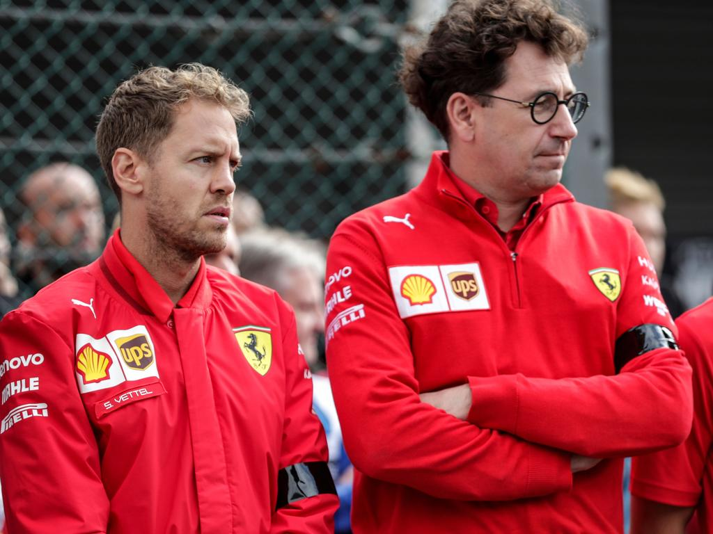 Ricciardo was keen on joining Ferrari when Sebastian Vettel was challenging for the championship in 2018. (Photo by Kenzo TRIBOUILLARD / AFP)