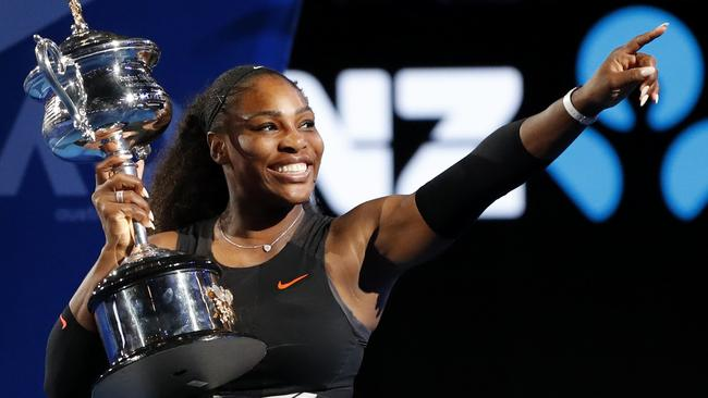 Australian Open officials are confident Serena Williams will be back to defend her crown at Melbourne Park. Picture: AP Photo