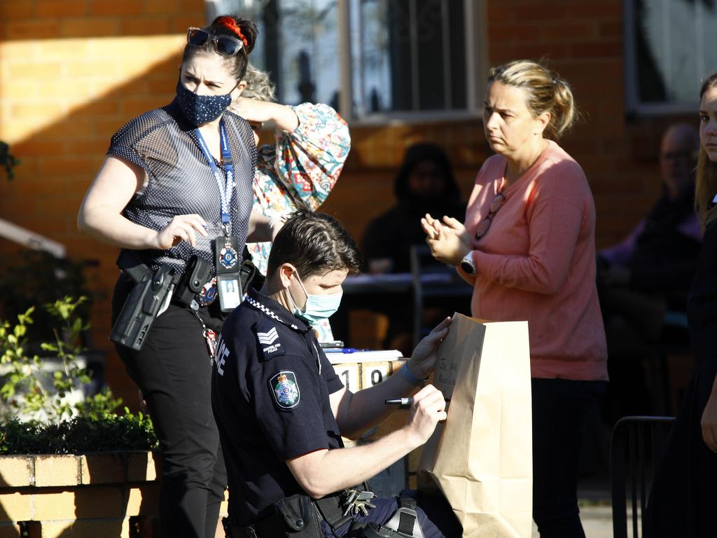 Two boys are in police custody, but another alleged offender is still on the run. Picture: NCA NewsWire/Tertius Pickard