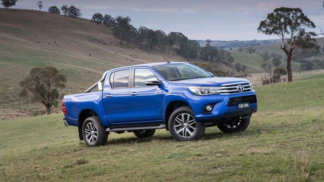 Toyota HiLux is also popular because they have less bounce than older utes. Picture: Supplied