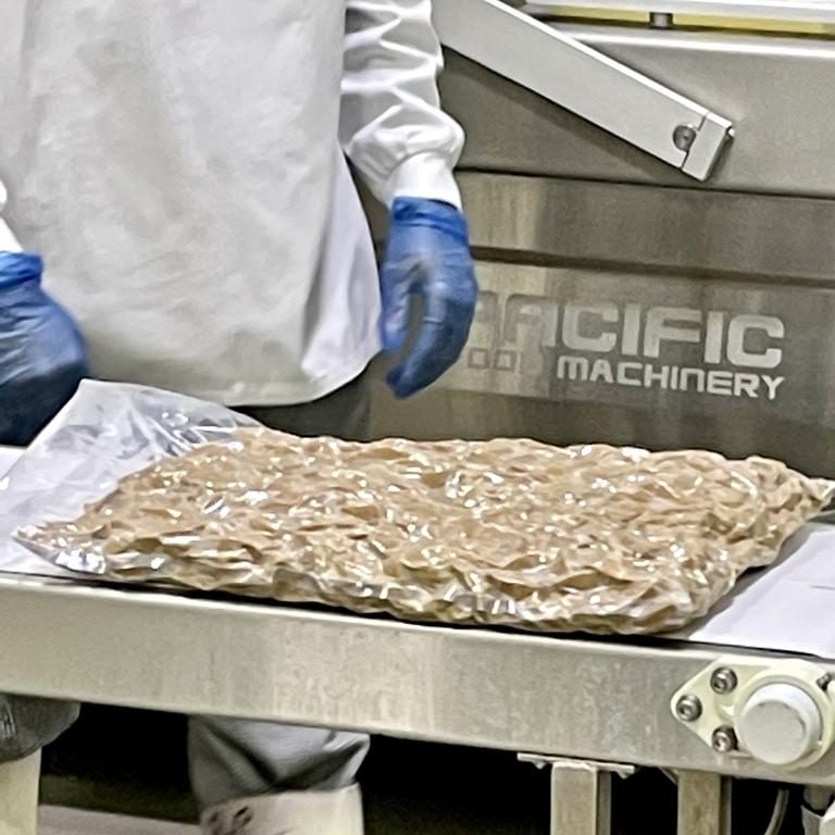 The new facility has the capacity to produce a million five kilogram bags like this one every year.