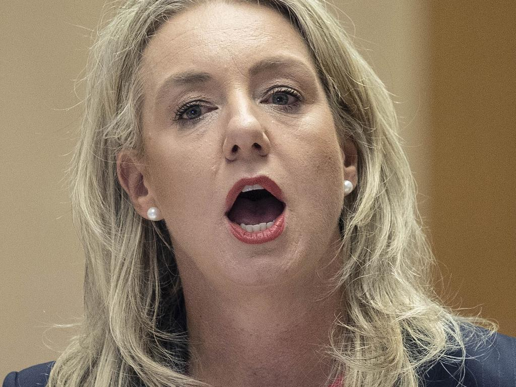 CANBERRA, AUSTRALIA- NewsWire Photos  FEBRUARY 12, 2021: Senator Bridget McKenzie appeared at the Sports Rorts Committee in Parliament House in Canberra.  Picture: NCA NewsWire / Gary Ramage