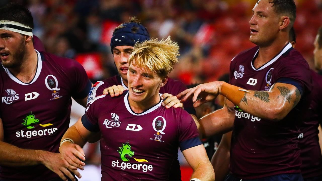 Queensland Reds young gun Tate McDermott says his side wants their actions to do the talking and make a push for the finals.