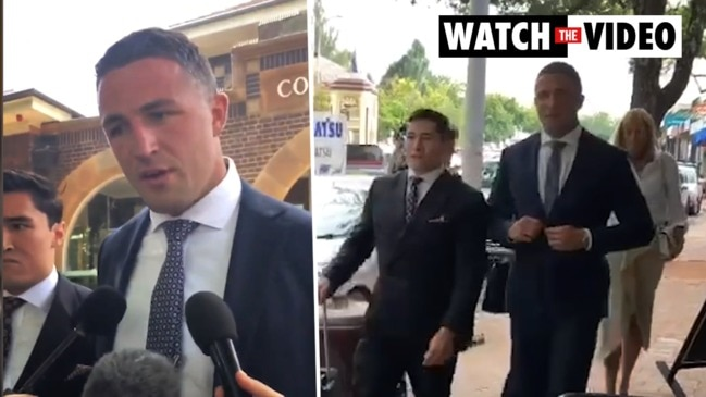 NRL star Sam Burgess found guilty