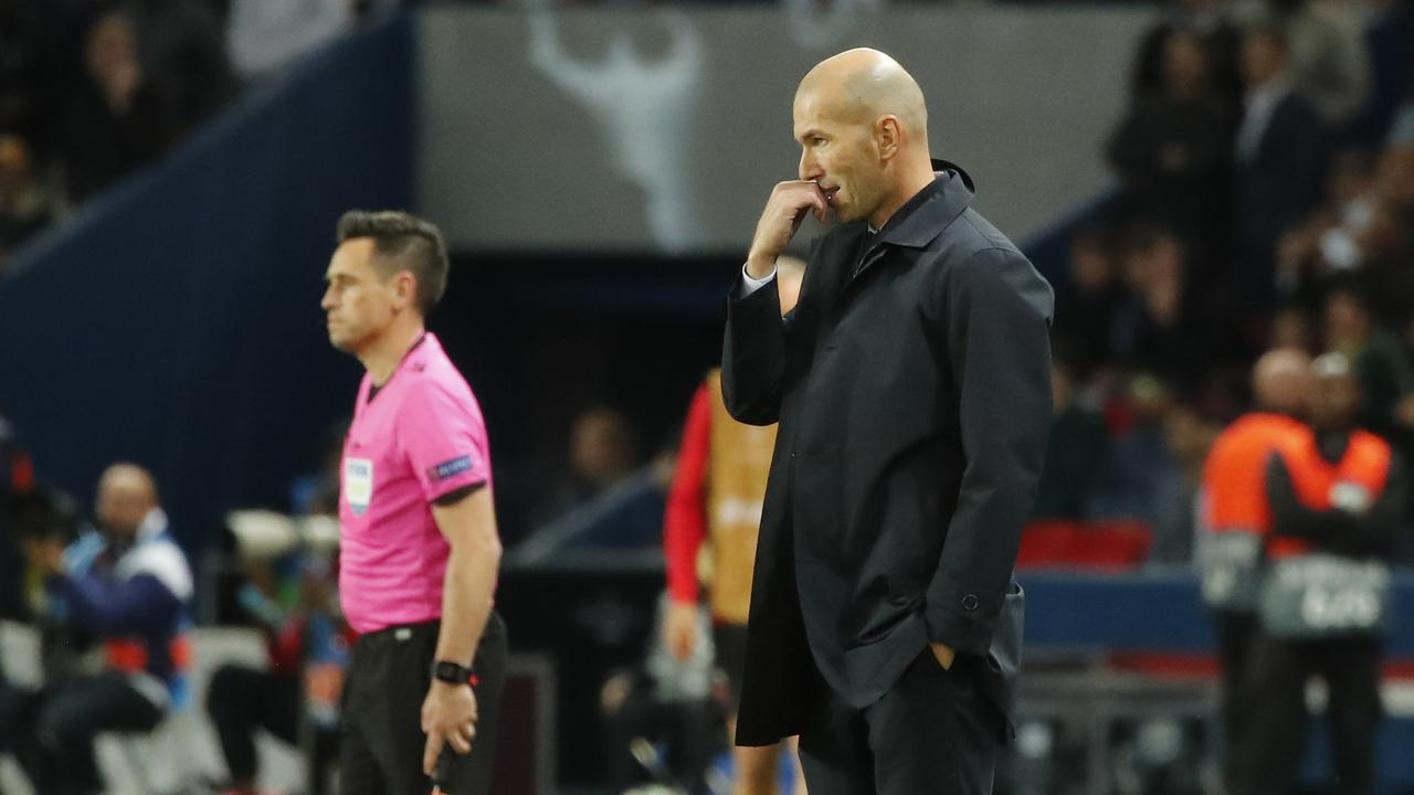 Zinedine Zidane 'not bothered' by sacking speculation after Real-ly awful start