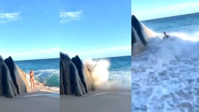 Instagrammer's epic beach photo fail while on holiday in Cabos