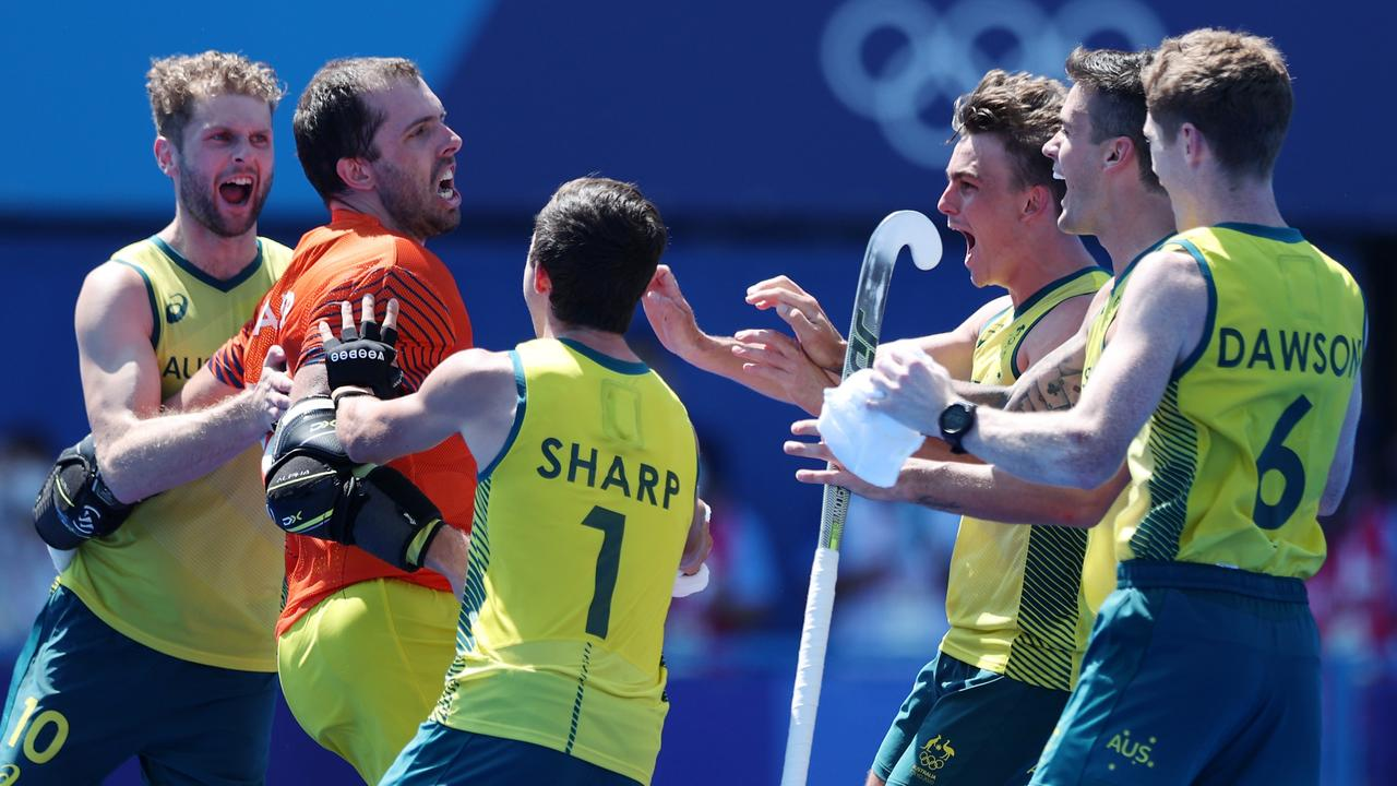 The Kookaburras are looking sharp. Picture: Naomi Baker/Getty Images)