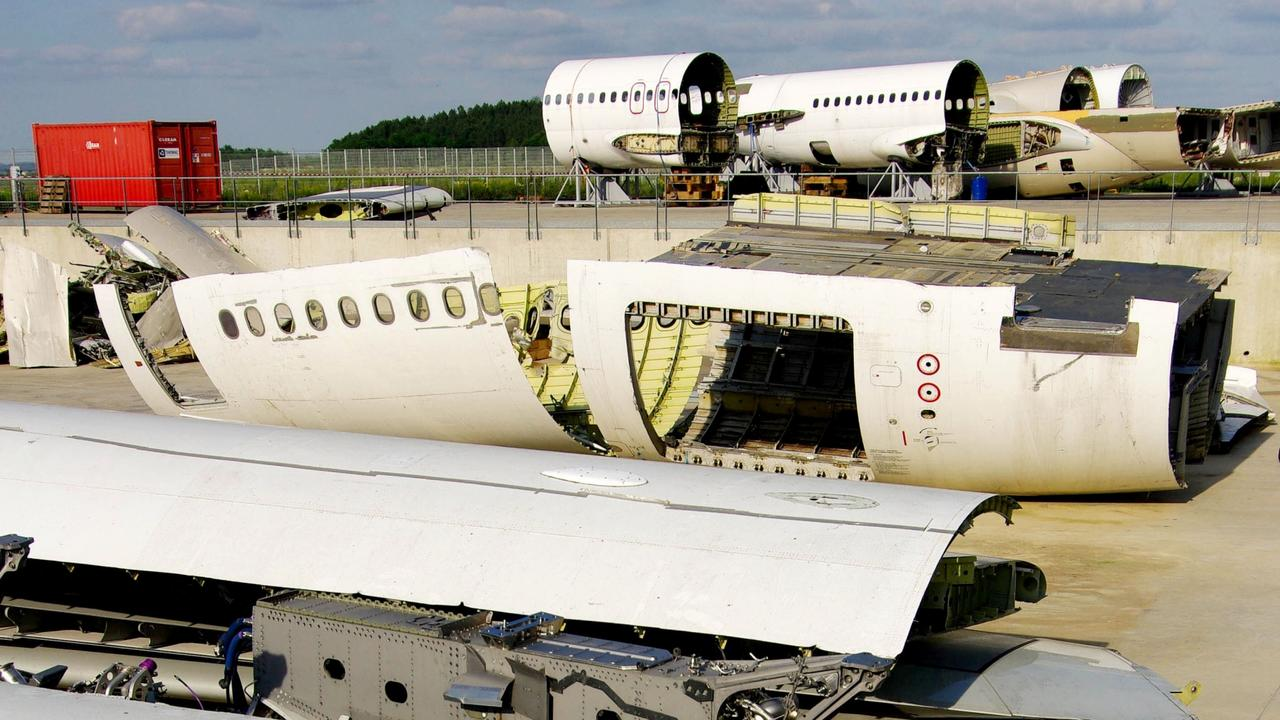 France's Tarmac Aerosave stores, maintains and recycles a range of aircraft. Picture: Andia/UIG via Getty Images