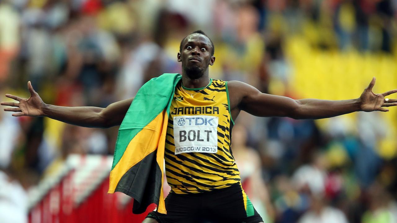 Usain Bolt. Picture: Ian Walton