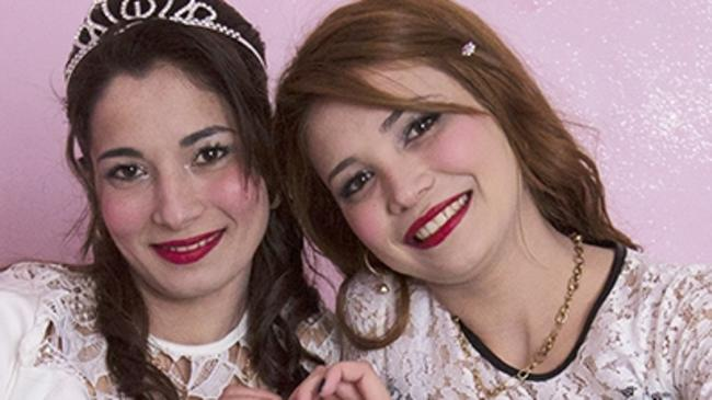 Two sisters visit the annual 'bride market' in Bulgaria hoping to meet a potential husband. Picture: Broadly.