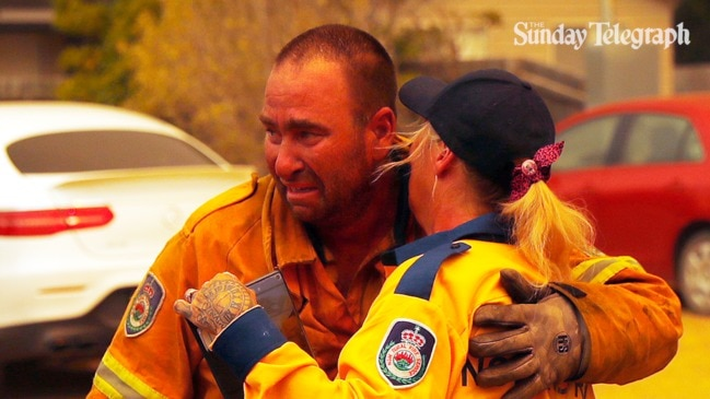 Man reunites with firefighter who saved his home
