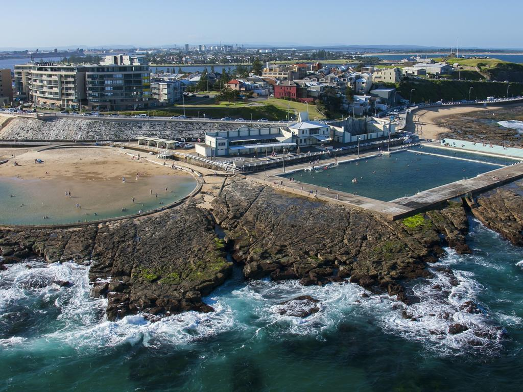 Newcastle has been popular with buyers after affordable coastal property.