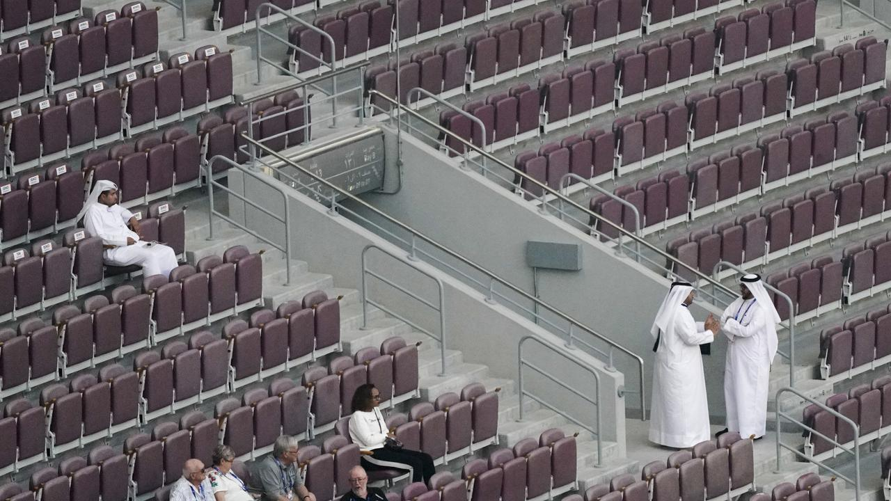 The World Athletics Championships have been marred by empty stands. Picture: AP