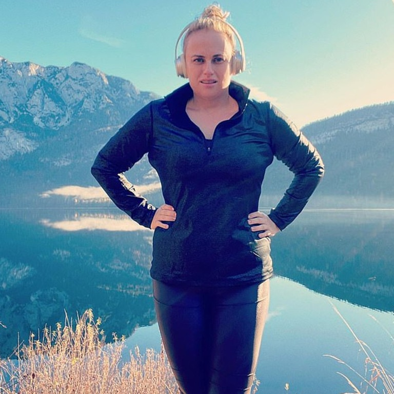 Rebel Wilson credits a lot of her weight loss to hiking.