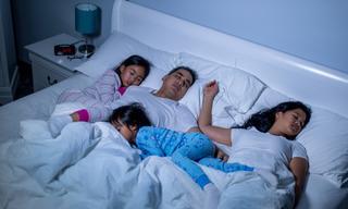 'I hide my family's sleeping secret'