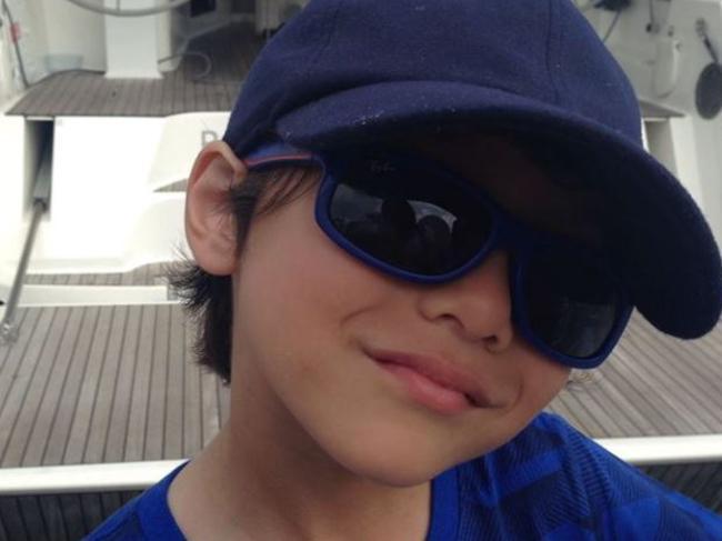 Julian Cadman, 7, who is missing in Barcelona. Picture: Facebook