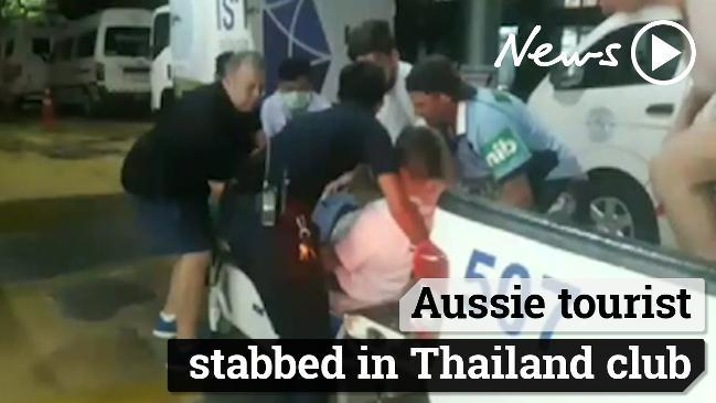 Aussie tourist stabbed in Thailand club