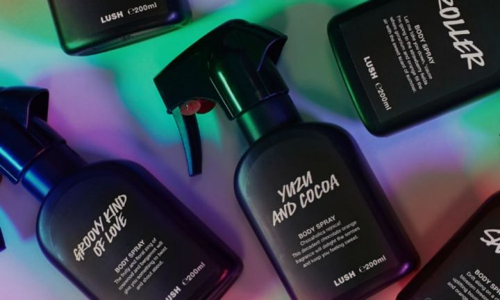 Lush introduces 24 new body sprays to their cult buys