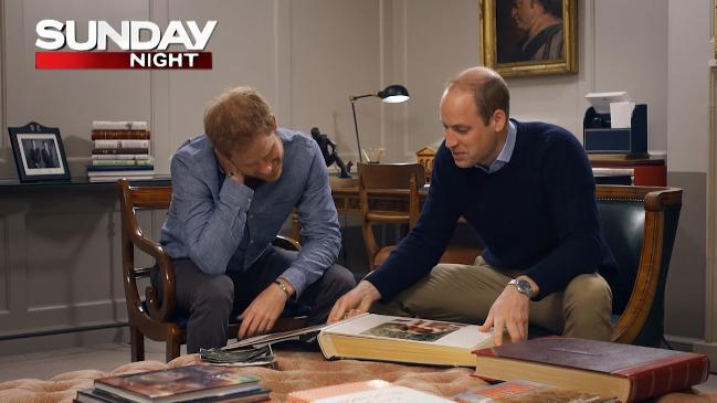 Preview: Prince William and Harry open up about Diana for the first time on Sunday Night