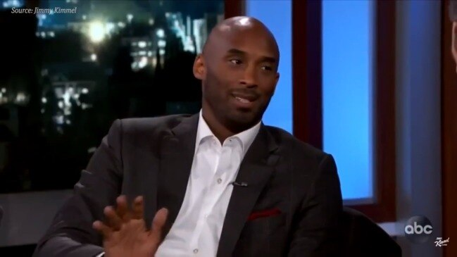 """""""Heartbreaking"""" video clip of Kobe Bryant talking about his daughter"""