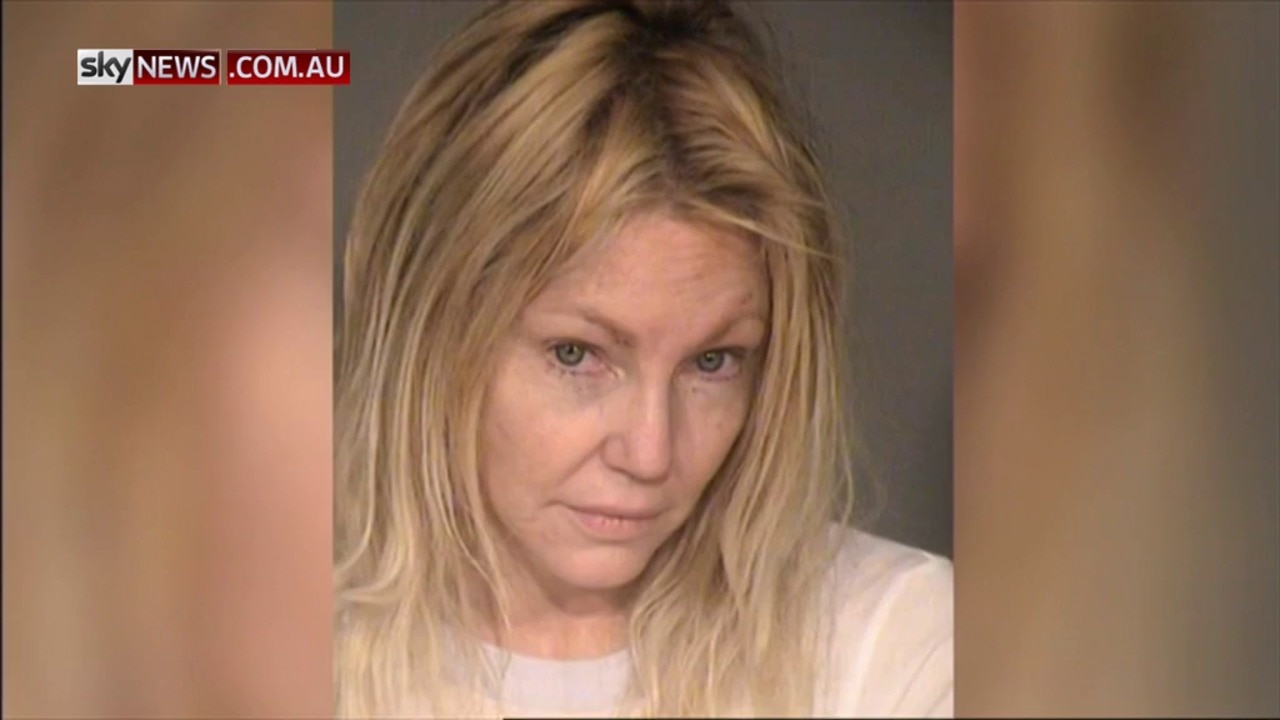 Heather Locklear arrested for domestic violence and assaulting police officer