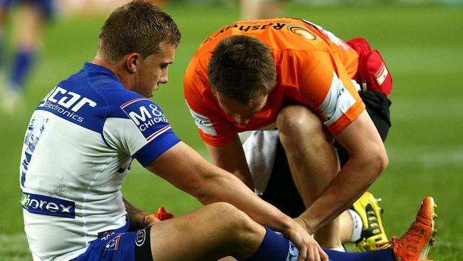 Trent Hodkinson's fitness to face Penrith remains in doubt.