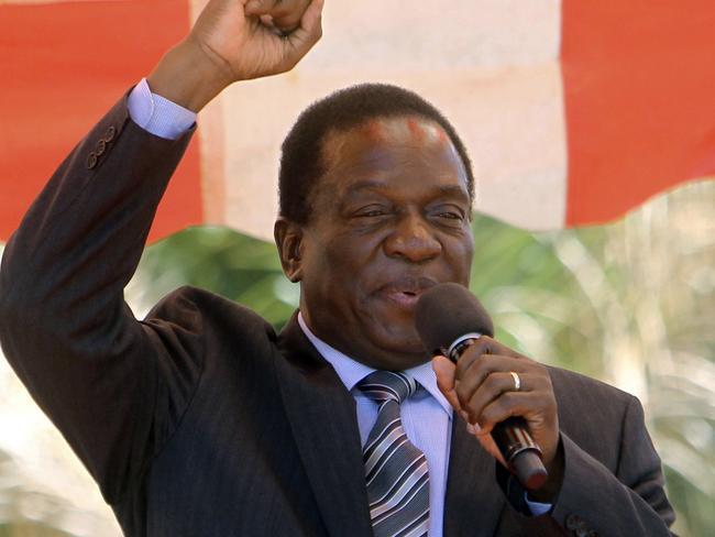 Emmerson Mnangagwa. Picture: AP