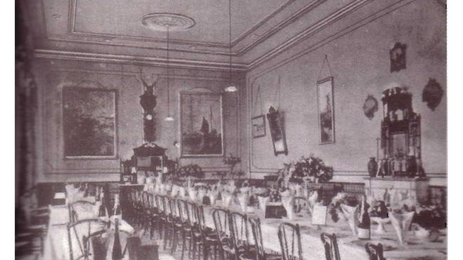 The old dining room of the Cecil Hotel.