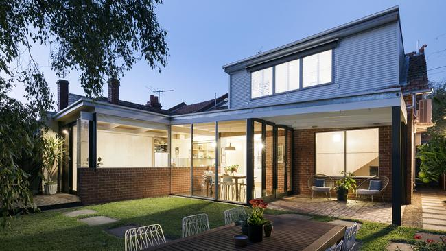 Heidi Arena's property at 3 Rushall Cres, Fitzroy North, is for sale.