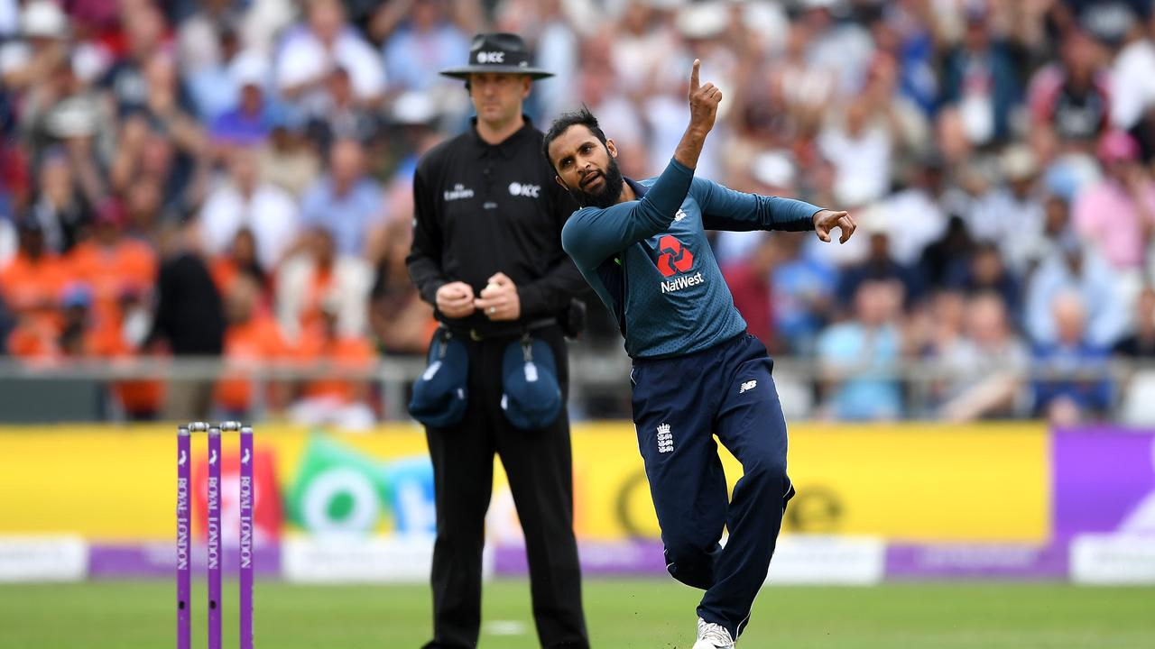 English leg-spinner Adil Rashid has been in strong form in the one-day series against India.