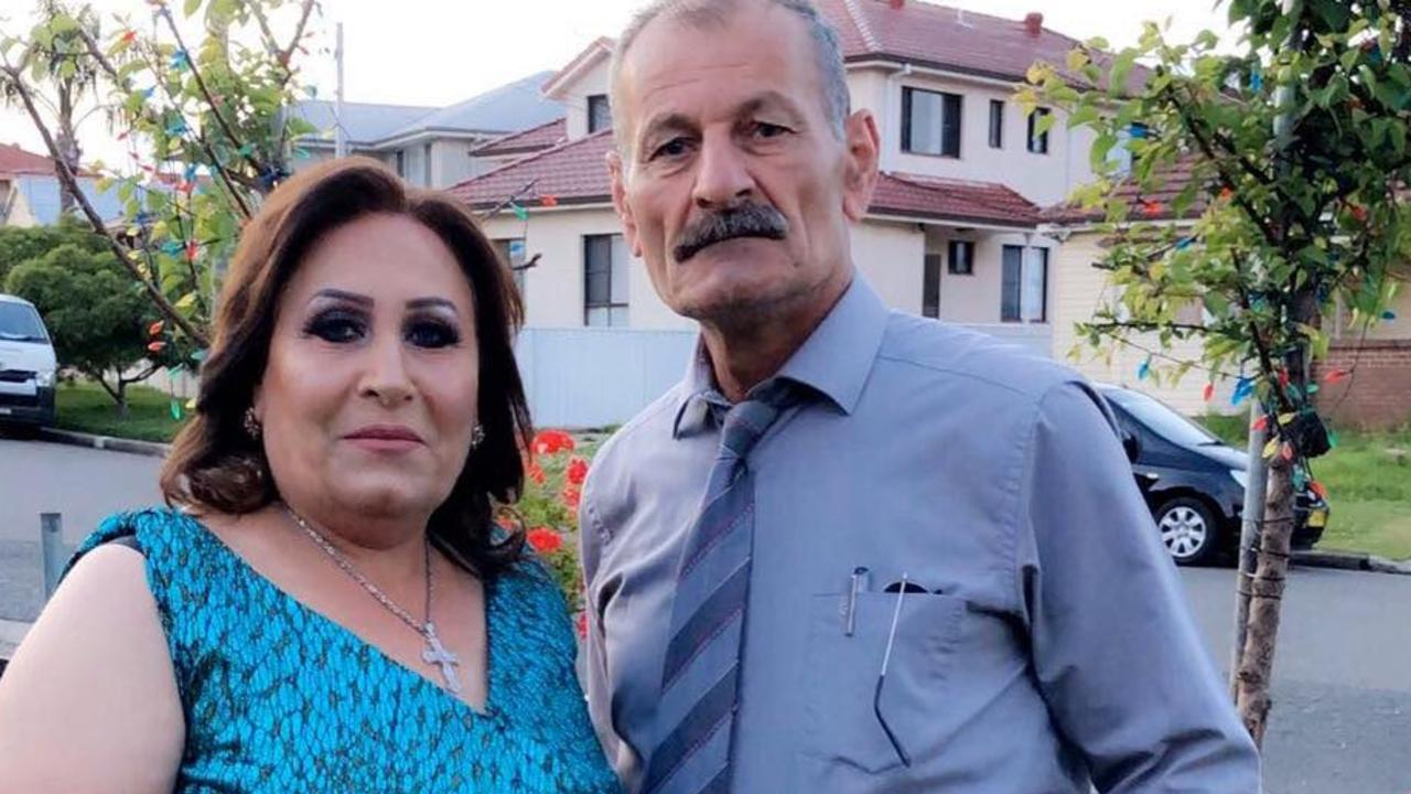 Saeeda Akobi Jjou Stu, pictured with her husband Adel Shawka, was found dead in her home after succumbing to Covid.
