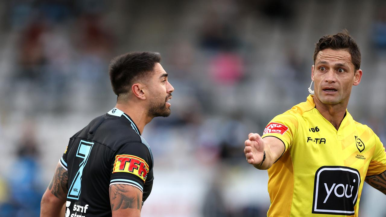 Shaun Johnson was incensed during the match, claiming he was bitten.