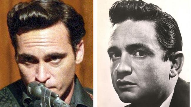 Phoenix in <i>Walk The Line </i>and Johnny Cash.