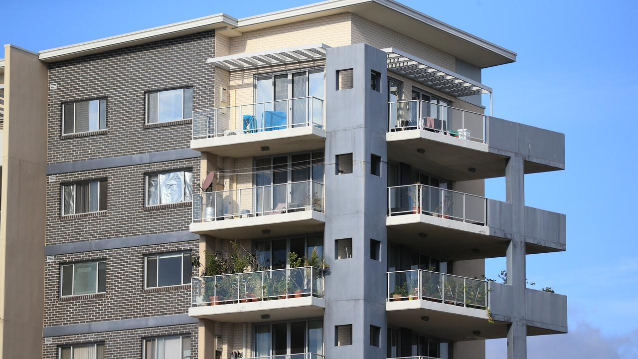 Sydney's apartment market has proved surprisingly resilient despite population loss. Picture: Christian Gilles / NCA NewsWire