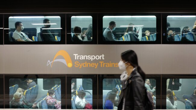 Transport for NSW is currently using the rapid antigen testing but they are not yet in full use. Picture: James D. Morgan/Getty Images