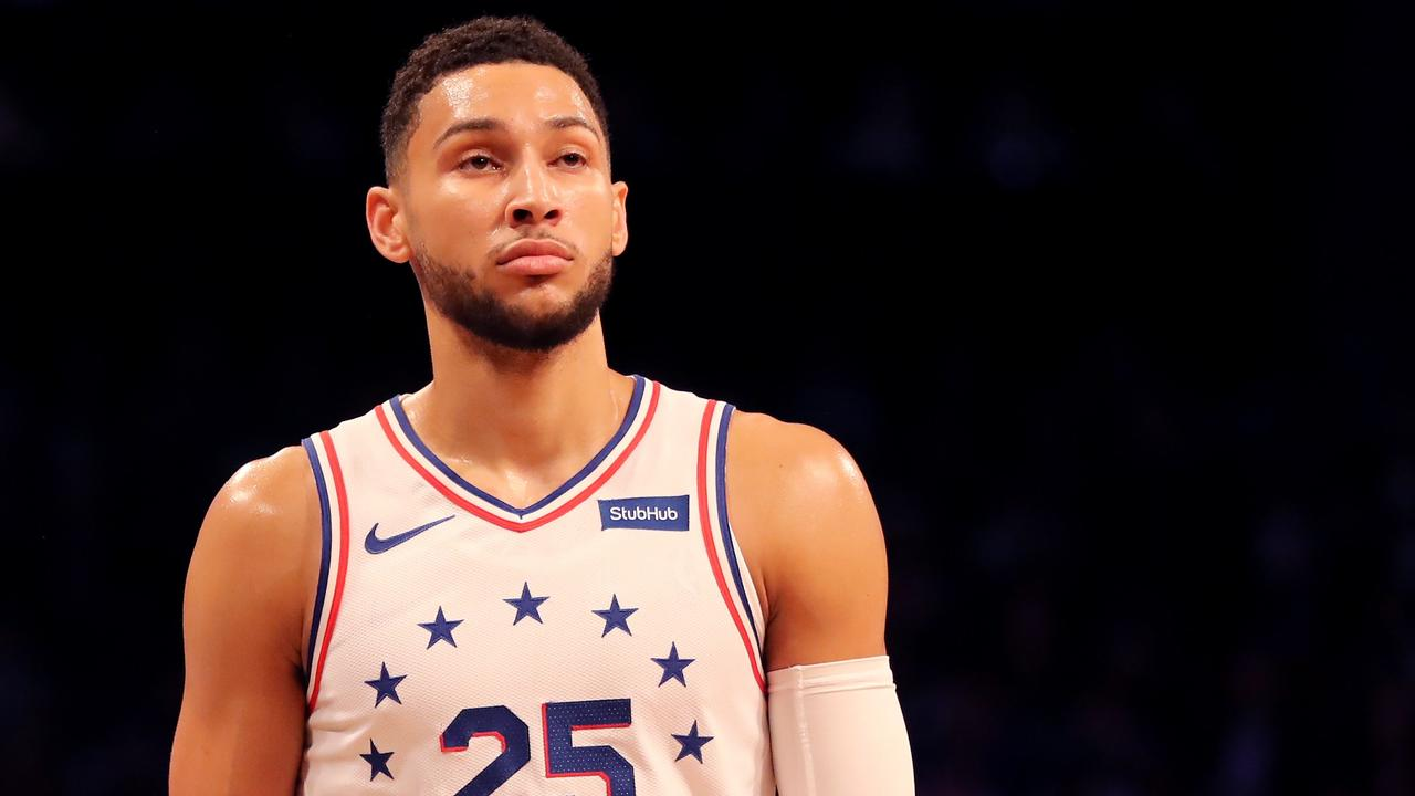 Ben Simmons wants out. Elsa/Getty Images/AFP