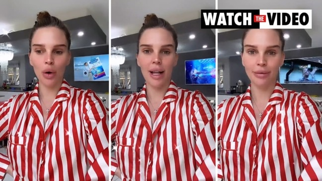 Reality star Danielle Lloyd hits back at haters after secret eye lift