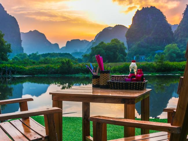 It should be noted that Ninh Binh isn't about action provided within city limits, but its proximity to activities just beyond with most using the place as a base to travel to some of the prettiest, unspoilt parts of Vietnam such as the wetlands and rice paddies of Tam Coc and Van Long. Book a room at the scenic Trang An Retreat (from $50 a night) through Booking.com.  Check out more of the hottest destinations and travel trends in Escape's Best for 2020 series.