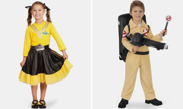 Emma Wiggle costume and Ghostbusters kids costume The Iconic kids costumes dress up