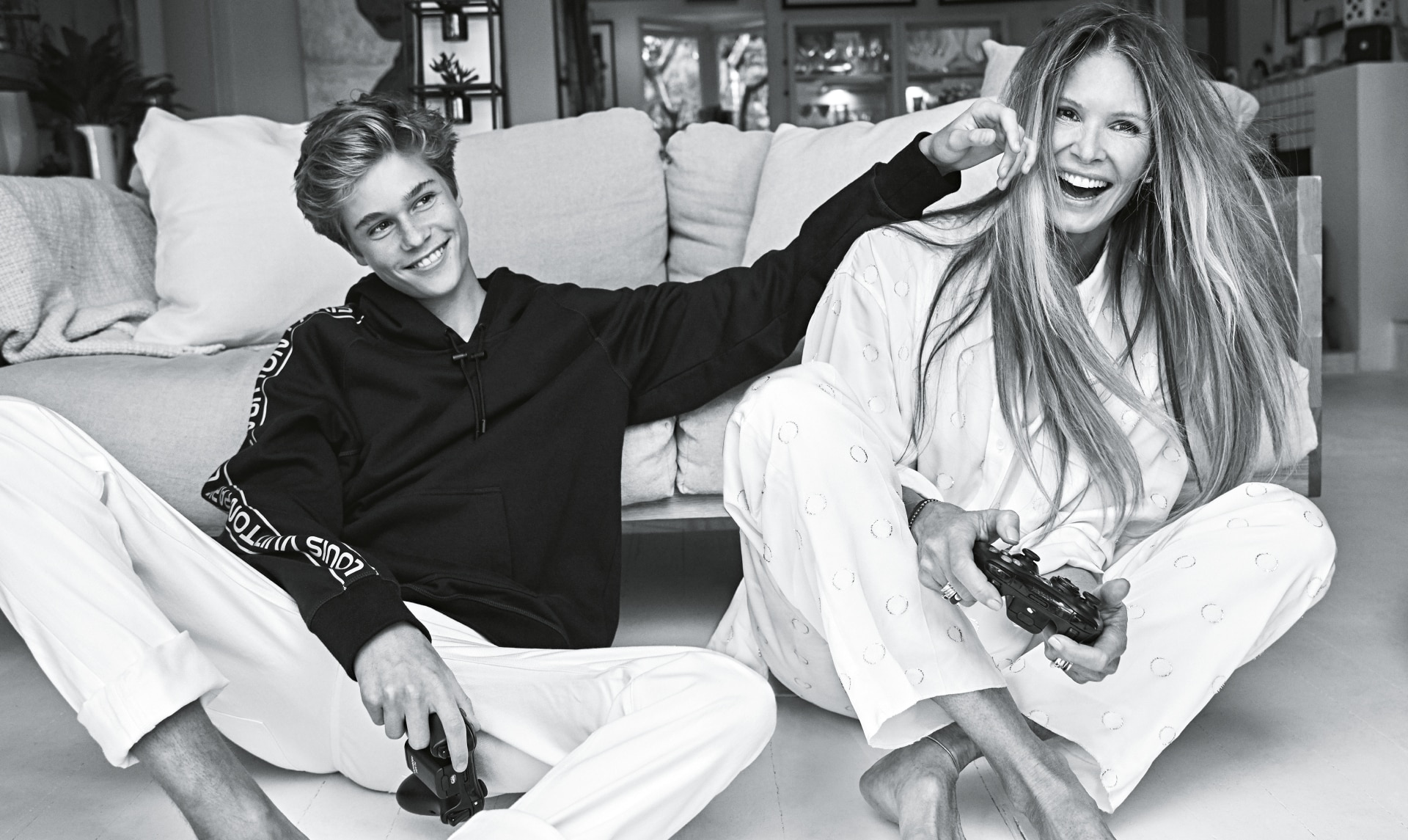 Elle Macpherson on her morning routine and the first-ever photoshoot with her sons