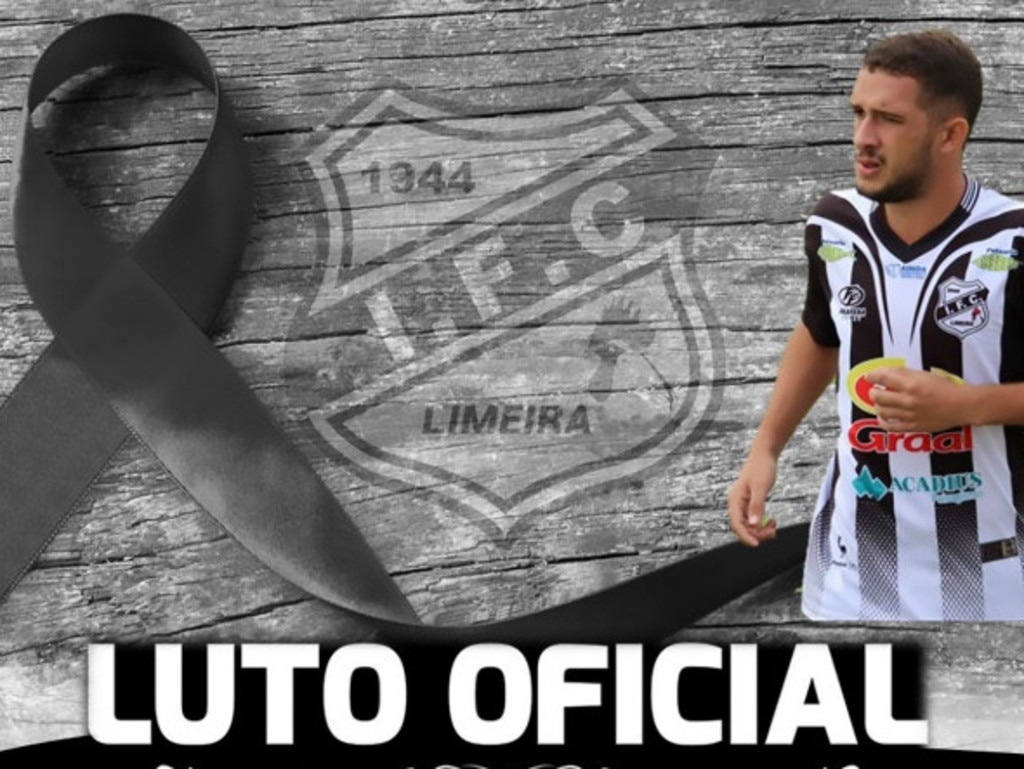 Kaio Felipe Santos Silva is being mourned and this image appeared on his club's Facebook page.