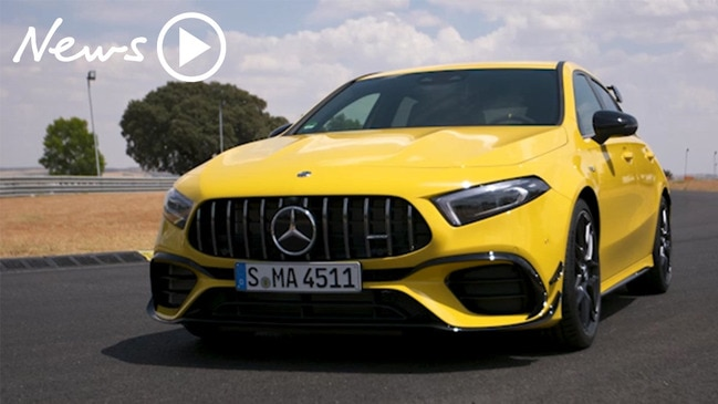 Tested: New Mercedes-AMG A45