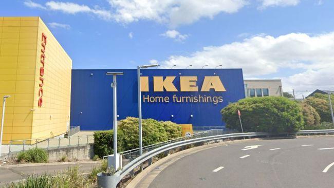 Ikea Tempe is the latest Sydney venue on COVID alert. Picture: Google Maps