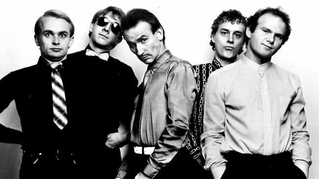 Heavy price ... Australian rock band 'Men At Work' were forced to pay out $100,000, and an estimated further $4.5 million in court costs. Picture: Supplied